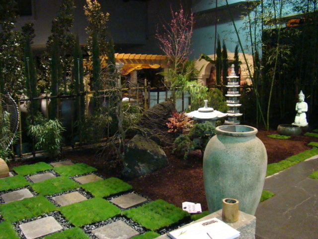 Contemporary Japanese Tea House Garden 2 Asian
