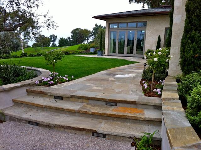 Contemporary la jolla landscape architecture courtyard for Italian landscape design
