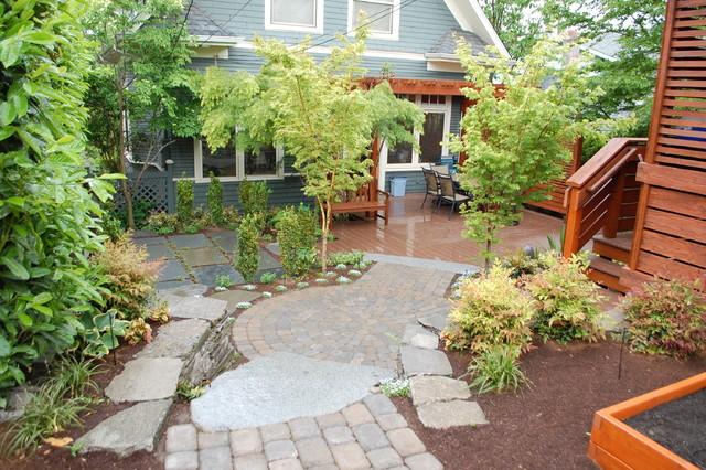 Backyard Zen contemporary-landscape