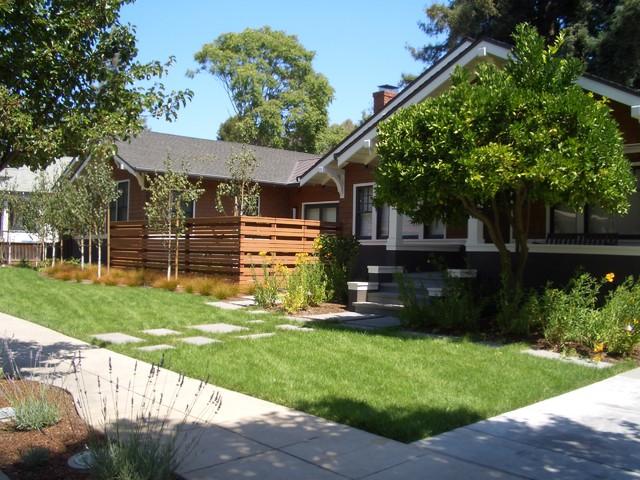 Palo Alto, CA contemporary-landscape