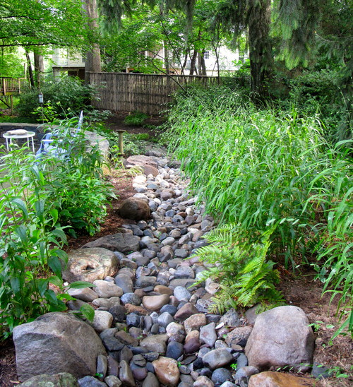 Backyard Hill Drainage : How to Landscape Drainage Swales  INSTALLITDIRECT