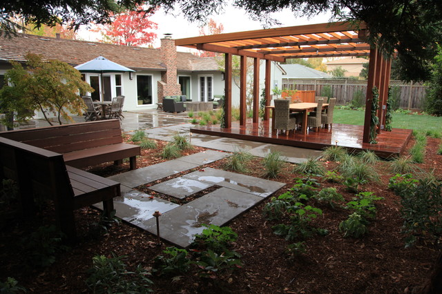 Outdoor rooms contemporary landscape other metro for Houzz landscape architects