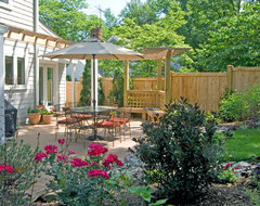 Contemporary Outdoor Retreat – Silver Spring, MD contemporary-landscape