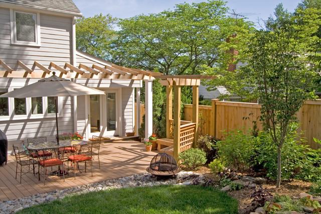 Contemporary Outdoor Retreat – Silver Spring, MD contemporary-landscape