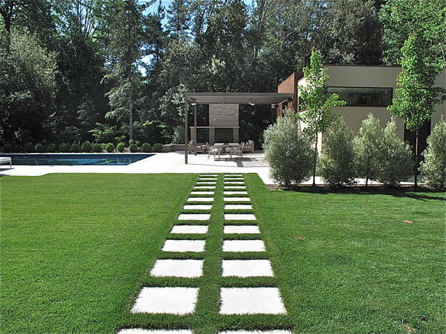 contemporary residential garden design contemporary landscape