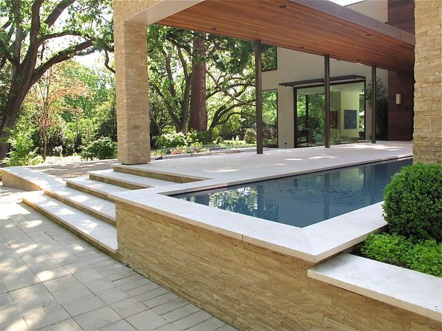 Contemporary residential garden design for Contemporary residential architecture