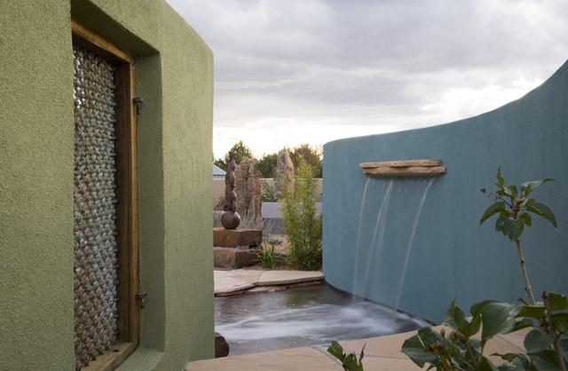 Contemporary Sculpture Garden contemporary-landscape