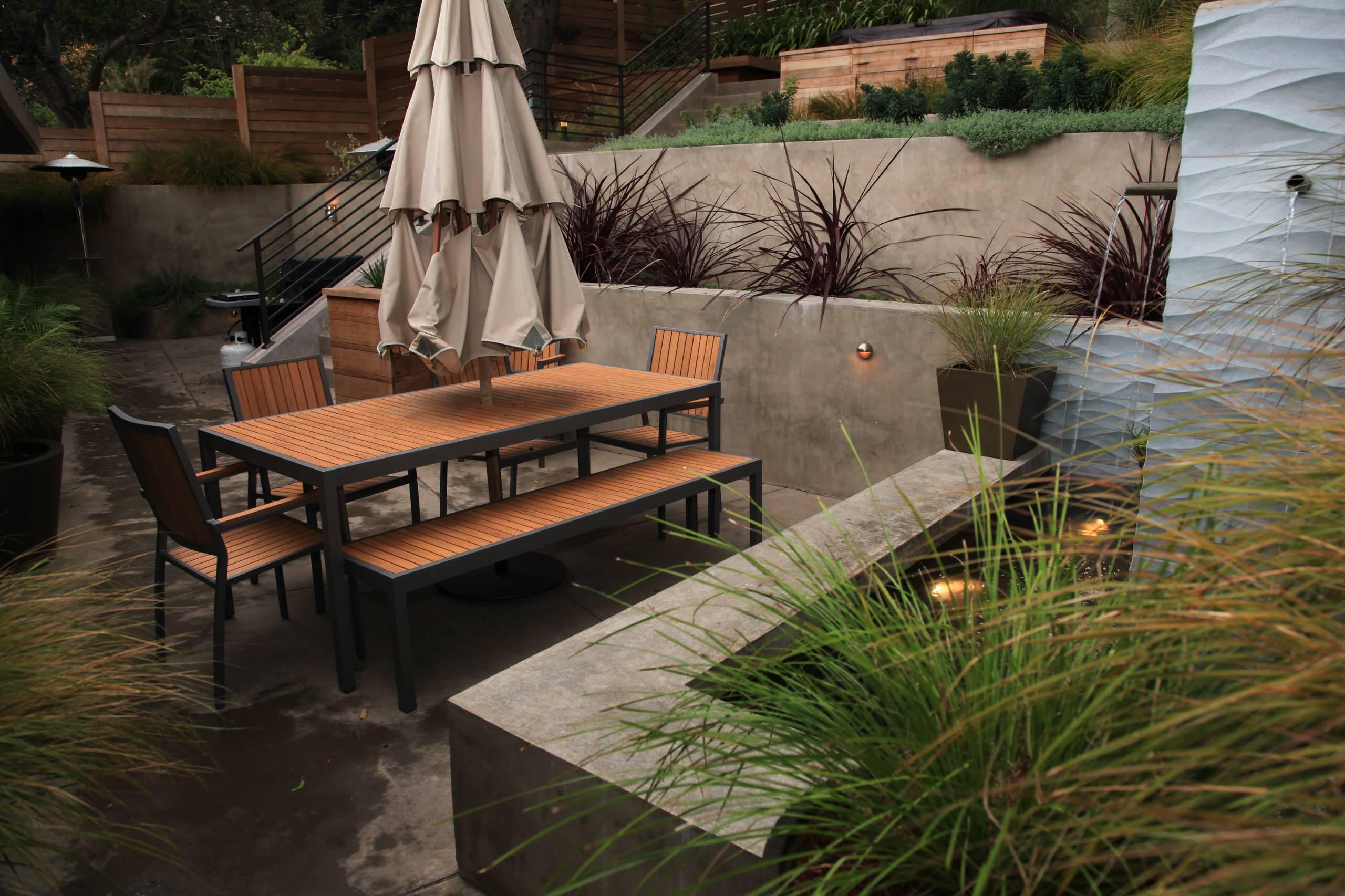 Contemporary Suburban Garden
