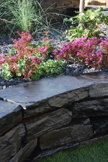 Contemporary waterscape for Waterscape garden designs