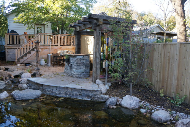 Coolest Backyard Ever Eclectic Landscape Toronto