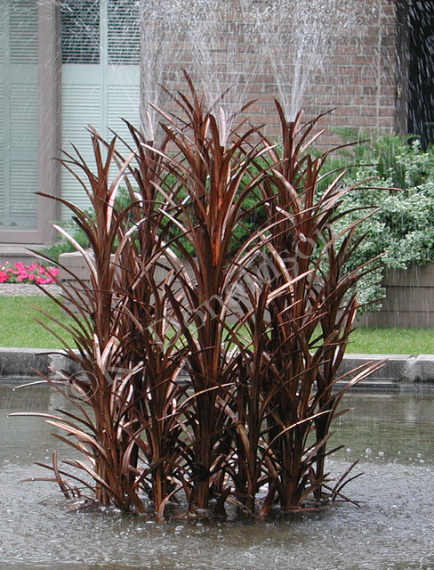 Copper Reeds Water Fountain