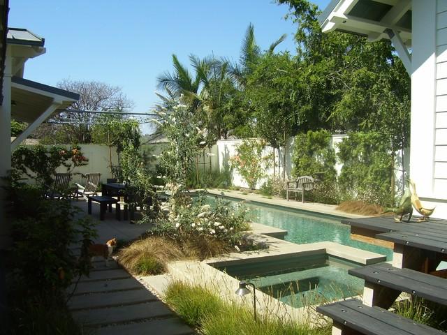 Corona Del Mar Residence eclectic-landscape