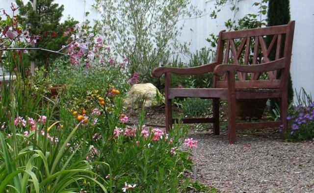 cottage garden shabby chic style landscape san diego. Black Bedroom Furniture Sets. Home Design Ideas