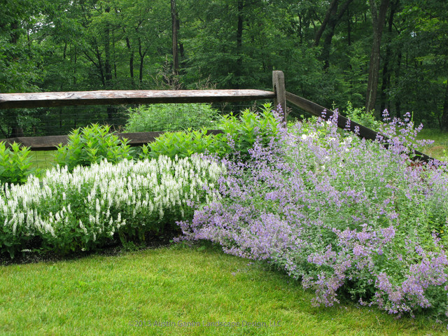 Country garden farmhouse landscape bridgeport by for Country garden designs landscaping