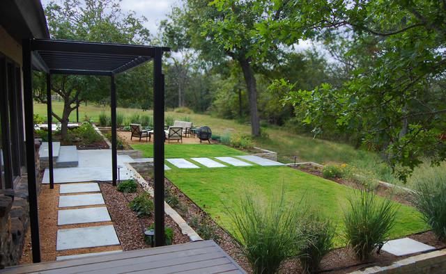 Garden Design Landscape Architecture : Country garden contemporary landscape oklahoma city