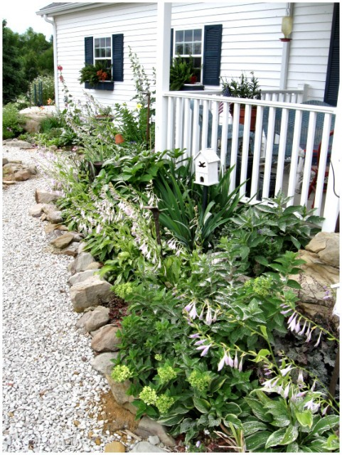 Country Home and Garden traditional-landscape