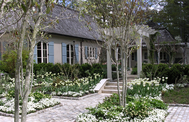 Courtyard traditional-landscape