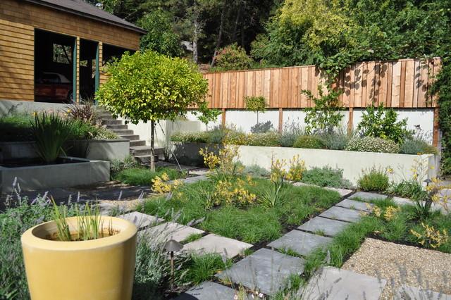 courtyard garden modern-landscape