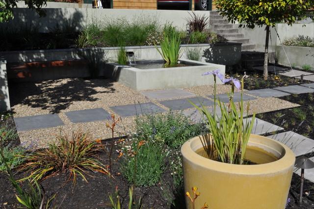 Courtyard modern-landscape