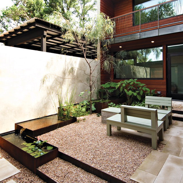 Courtyard Contemporary-landscape