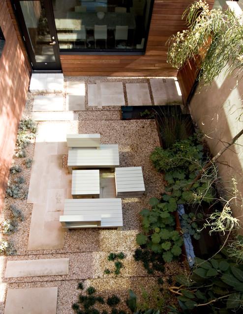 Courtyard Modern Landscape Austin By Jobe Corral