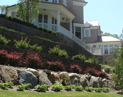 Oyster Bay Cove traditional landscape