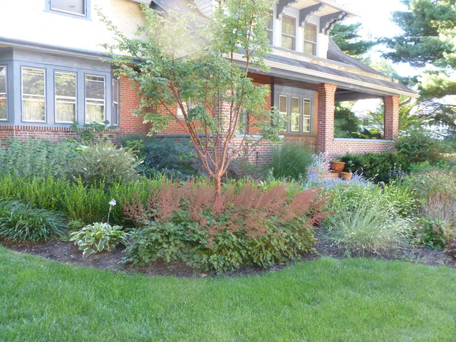 ... Garden Design With Craftsman Style Home Landscape Design In Merion  Square Craftsman With Fairy Garden Design
