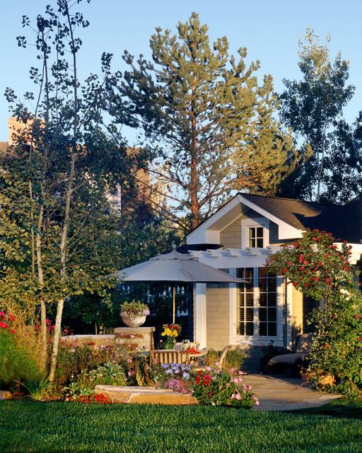 Craftsman Style Home Traditional Landscape Denver