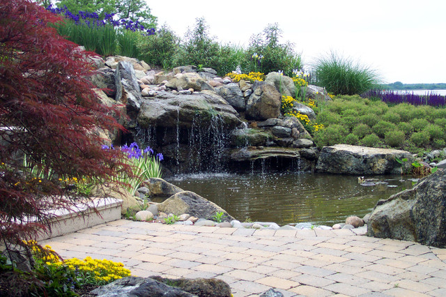 Landscaping landscaping ideas eastern shore md for Waterfront landscape design