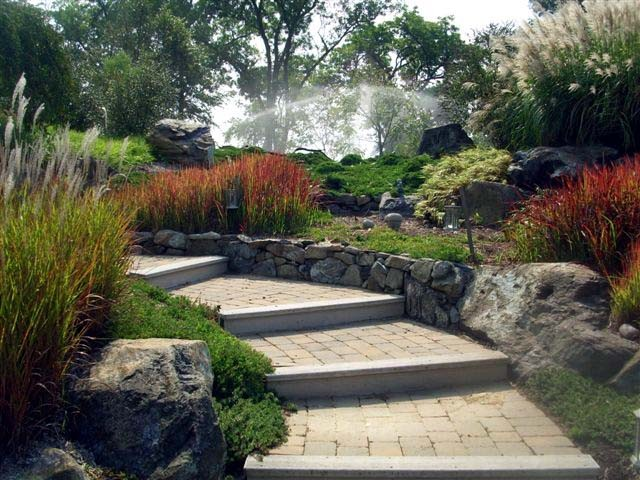 Creative sustainable waterfront landscape design eastern for Sustainable garden design