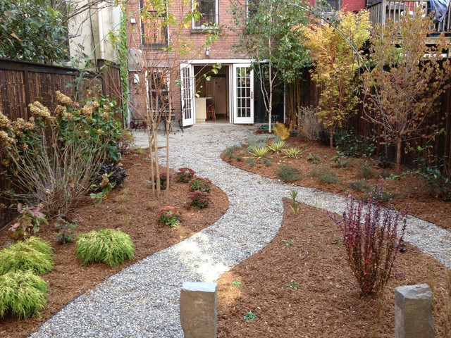 Crushed Rock Landscaping : Crushed stone garden