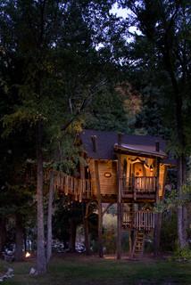 Crystal River Tree House - Rustic - Landscape - Denver