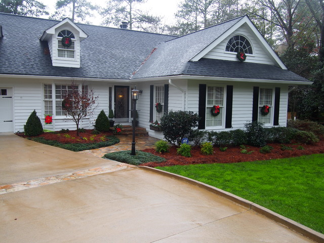 Http Www Houzz Com Photos 80198231 Curb Appeal 10 Marietta Traditional Landscape Atlanta