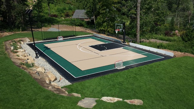 Custom Backyard Multi Sport Court New York De