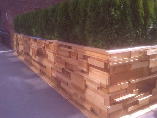 Custom Cedar Fencing and Deck