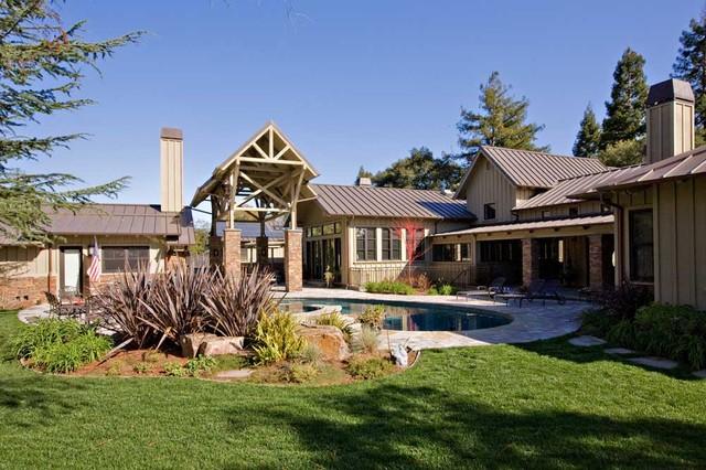 Custom estate home by bay area custom home building for Custom home builder contract