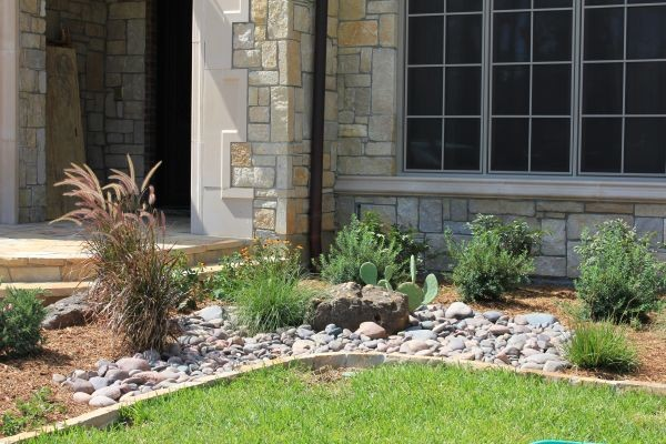 Landscape Boulders Dallas Tx : Custom landscape design dallas tx contemporary