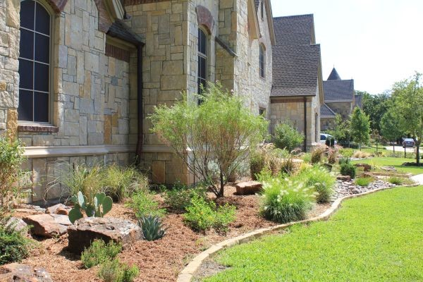 Landscape Boulders Dallas Tx : Custom landscape design dallas tx southwestern other