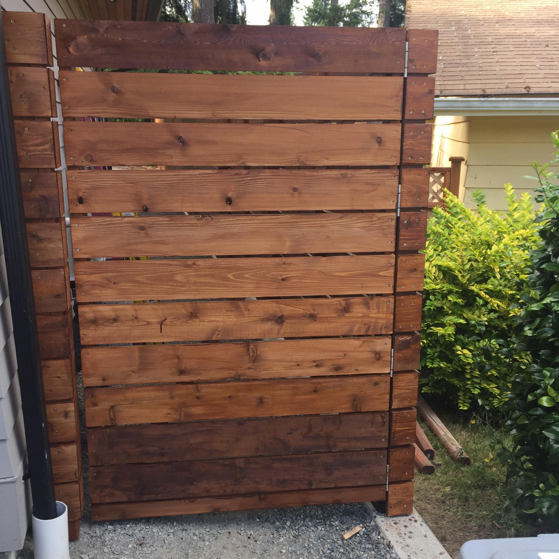 Custom Mercer Island Fence
