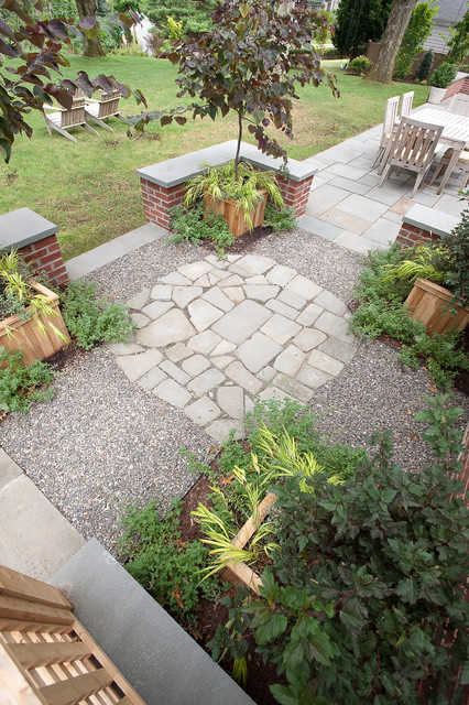 Custom outdoor kitchen fireplace and dining eclectic for Westover landscape design