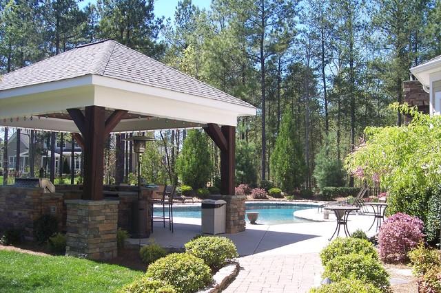 Custom Residence traditional-landscape