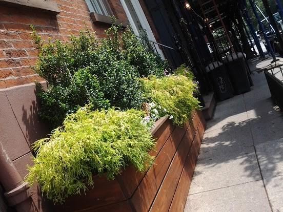 Custom Sidewalk Planter Box For Greenwich Village