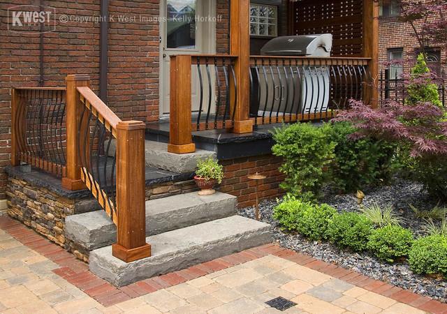 Custom Stone Porch Asian Landscape Toronto By K