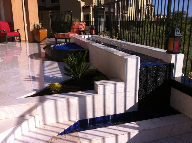 Custom Water Features eclectic-landscape