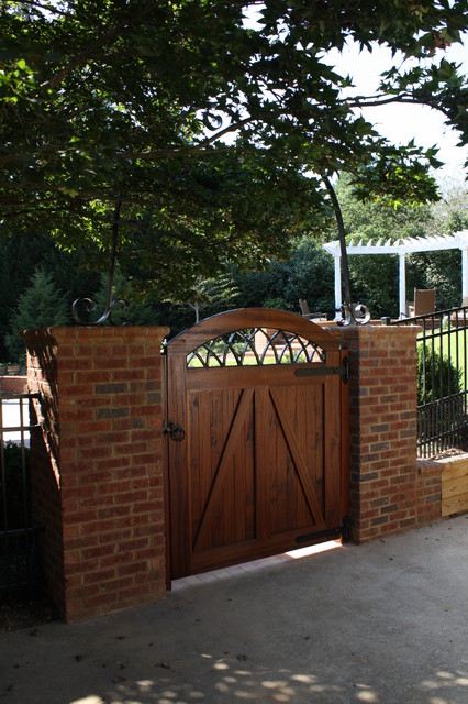 Custom Wood Gate Traditional Landscape Other Metro