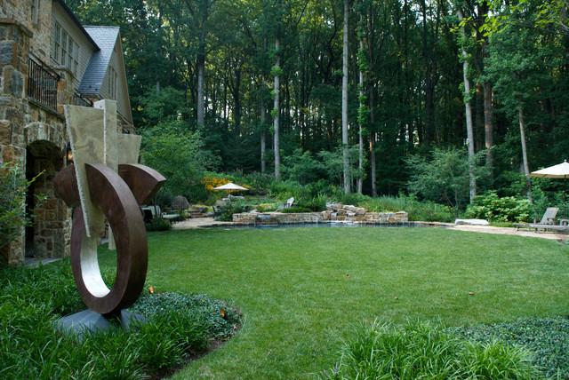 D contemporary landscape dc metro by plusen for Plusen landscape architects