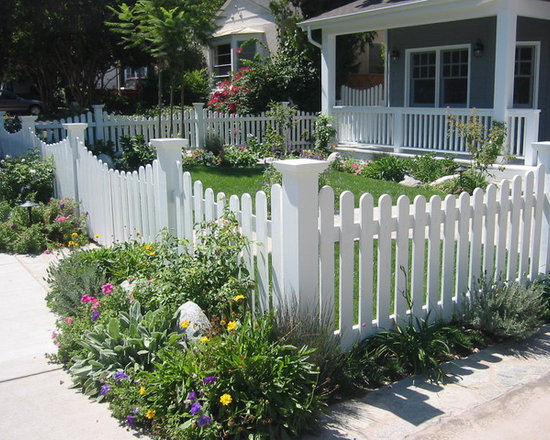 Picket Fence Design Ideas Pictures Remodel and Decor