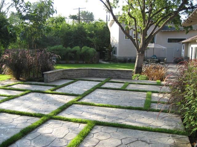 D Urso Landscape Design Modern Garden Los Angeles By
