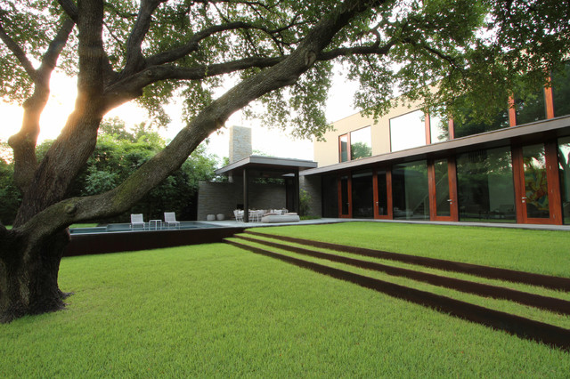 Dallas Residence 2 Modern Landscape Dallas By The