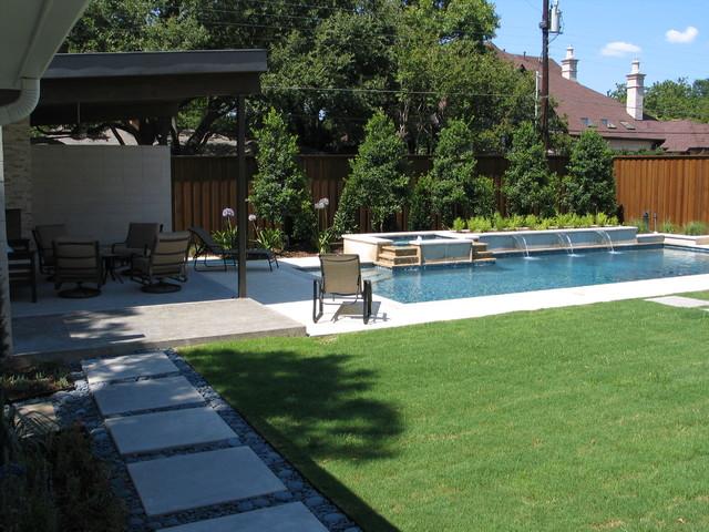 Dallas texas private estate stone work landscape for Home turf texas landscape design llc